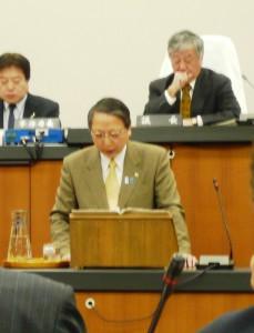 会田市長の施政方針演説