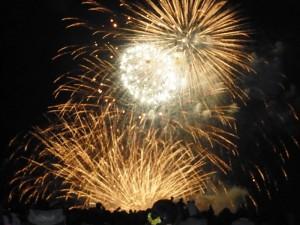 日本海の大花火