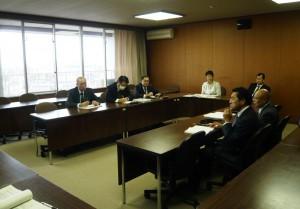 産業建設常任員会と農政課との意見交換会